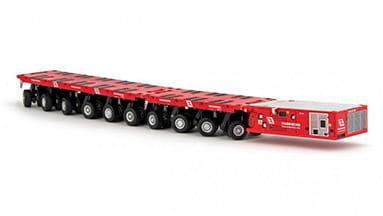 SPMT TRAILERS Transking logistic